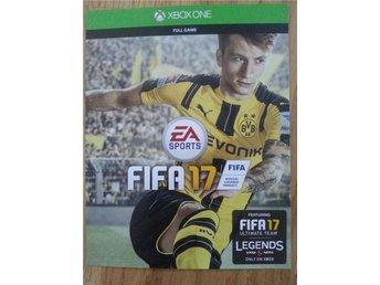 2017 FIFA 17 - Full Game - för XBOX ONE - Kod för nerladdning - örnsköldsvik - 2017 FIFA 17 - Full Game - för XBOX ONE - Kod för nerladdning - örnsköldsvik