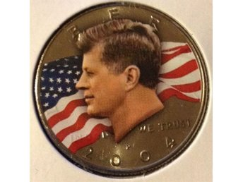 2004 John F Kennedy Half Dollar . USA