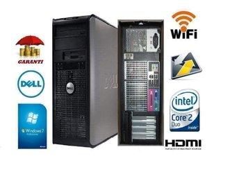 DELL 780 Wi-Fi HDMI mini tower , 3-6 månader Garanti Office Paket - Karlstad - DELL 780 Wi-Fi HDMI mini tower , 3-6 månader Garanti Office Paket - Karlstad