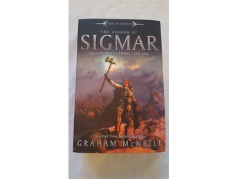 Warhammer Time of Legends: The Legend of Sigmar (1021 sidor) engelsk text