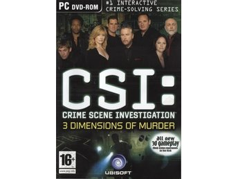 PC - CSI: 3 Dimensions of Murder (Beg)