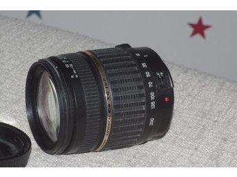 """Tamron 18-200mm F3.5-6.3 AF XR Di II LD Aspherical IF Macro till Canon - Dalby - Tamron 18-200mm F3.5-6.3 AF XR Di II LD Aspherical IF Macro till Canon fraktfritt vid """"köp nu"""" valj """"avhämtning"""" om du vill ha fraktfritt leverans och väljer """"köp nu"""" - Dalby"""