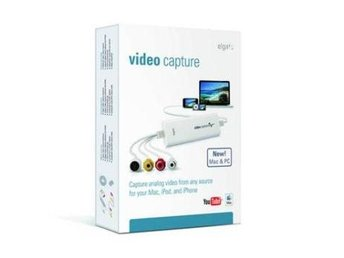 Elgato Video Capture, Transfer from a VCR,DVR camcorder to your Mac or PC