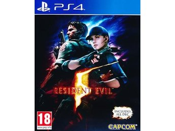 Resident Evil 5 HD PS4 (PS4)