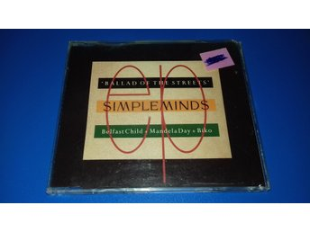 SIMPLE MINDS - ballad of the streets - cds - (cd)