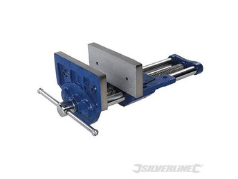 "180mm 7"" inch Woodworkers Vice 9.5kg work bench holding tool vices lathe"