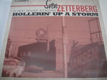 SVEN ZETTERBERG Hollerin' up a storm CD NY INPLASTAD RARITET