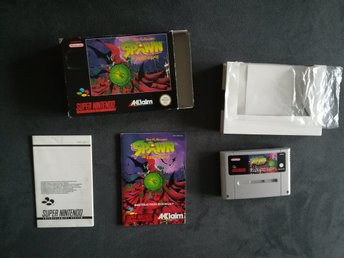 Super Nintendo Spawn, Snes spawn the video game