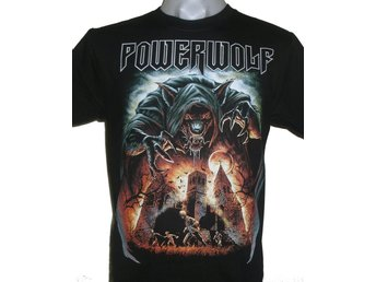 T-SHIRT: POWERWOLF  (Size XL)