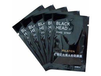 Javascript är inaktiverat. - Falkenberg - 5-Pack Pilaten Blackhead Ansiktsmask.Blackhead ansiktsmask appliceras direkt på huden och dras av efter ca 20 minuter.Effekten blir att orenheter och pormaskar följer med.För oljig hud är den här ansiktsmasken perfekt.Användning:Tvätta - Falkenberg