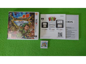 Dragon Quest Fragments of the Forgotten Past VII Nintendo 3DS