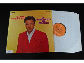 "ELVIS PRESLEY ""A PORTRAIT IN MUSIC"" SRS 558"