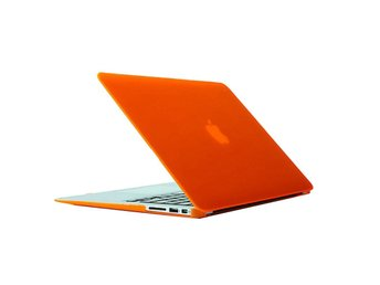 Skal för Macbook Air 13.3-tum (A1369 / A1466) - Matt frostat (Orange)