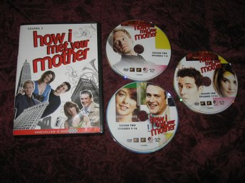 HOW I MET YOUR MOTHER SÄSONG 2 (JOSH RADNOR,JASON SEGEL) 3-DISC DVD
