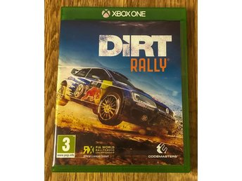 XBOX ONE DIRT RALLY SPEL