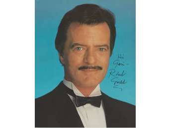 ROBERT GOULET AMERICAN SINGER AND ACTOR FRENCH-CANADIAN SIGNED AUTOGRAF FOTO