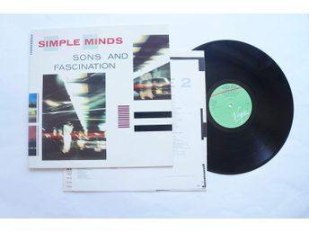 ** Simple Minds ‎– Sons And Fascination **