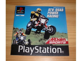 Manual PS: ATV Quad Power Racing