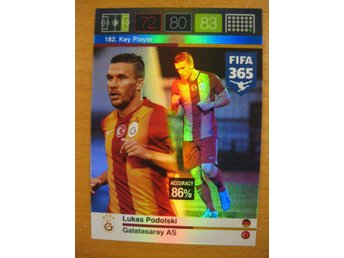 KEY PLAYER - LUKAS PODOLSKI - GALATASARAY - ADRENALYN - FIFA 365