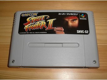 Snes Japan: Street Fighter II 2