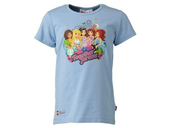 T-SHIRT FRIENDS, TASJA 410, SKY BLUE-122
