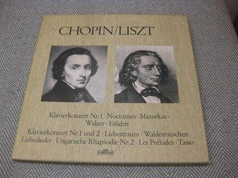Chopin/Liszt -185.808 - BOX - Nyköping - Chopin/Liszt -185.808 - BOX - Nyköping
