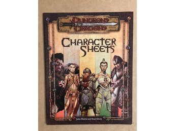 Character Sheets till Dungeons & Dragons