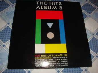 HITS ALBUM 8 DLP 1986 SADE FLEETWOOD MAC ERASUE WHITNEY