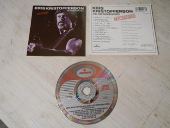 Cd Kris Kristofferson And The Borderlords  - Repossed !!!!!