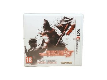 Resident Evil: The Mercenaries 3D (SWD NYTT)