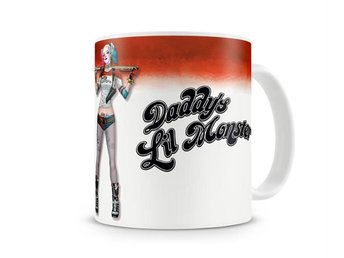 Suicide Squad - Daddy´s little monster kaffemugg
