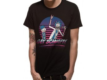 RICK AND MORTY - GET SCHWIFTY SUNSET (UNISEX) - Large
