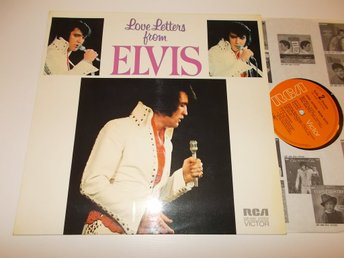 ELVIS PRESLEY - Love letters from, LP RCA LSP-4530 Tyskland '71