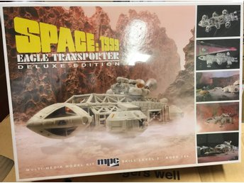 SPACE 1999 EAGLE 1 TRANSPORTER DELUXE EDITION   1/72 MPC Byggsats