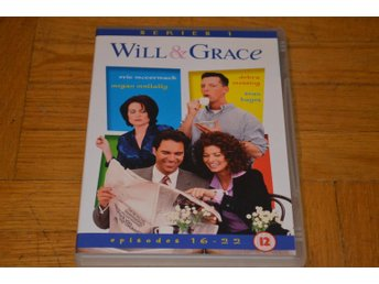 Will & Grace - Series 1- Episod 16-22 - DVD