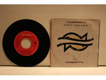 TEN SHARP-YOU-VINYL SINGEL-COLUMBIA COL 656664 7 FRÅN 1991