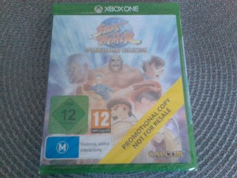Street Fighter 30th Anniversary Collection till Xbox One för en billig peng