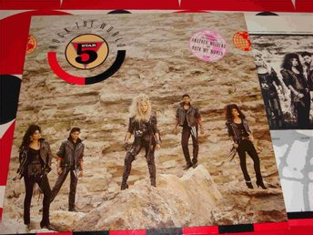FIVE STAR - ROCK THE WORLD LP 1988