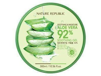 92% Aloe Vera Soothing Gel 300ml