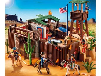 Playmobil Western Fort Brave (nypris 1300:- )