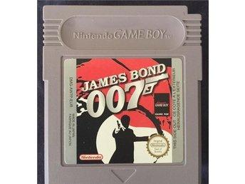 James Bond 007 Nintendo Gameboy Spel - Malmö - James Bond 007 Nintendo Gameboy Spel - Malmö