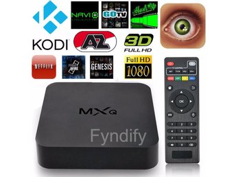 TV-Box MXQ Quad Core WiFi Full HD 1080P Smart set TV Box 1G+8GB