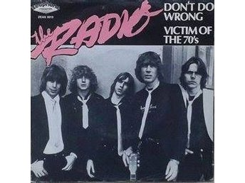 Radio title* Victim Of The 70's* Rock,Power Pop Swe 7""