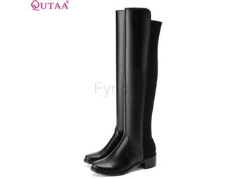 Dam Boots +ltcra All Match Fashion Women Boots Black 42