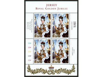 Jersey. Royal Golden jubile. ** nominal 12£