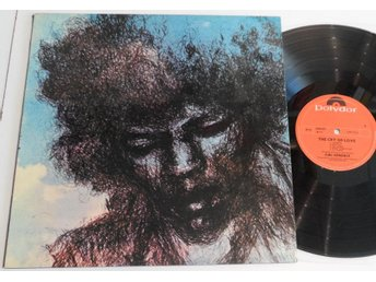 Jimi Hendrix - Cry Of Love - Norsk - LP