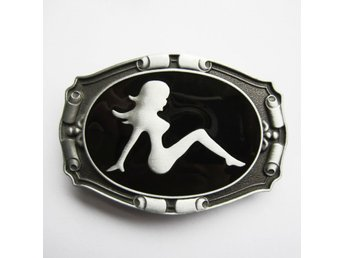 Truck Mud Flap Girl Buckle Spänne.