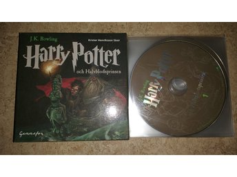 Harry Potter & Halvblodsprinsen ljudbok hörbok 21 CD (komplett)