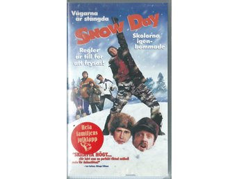Snow Day - Chevy Chase  - Svenskt text - VHS