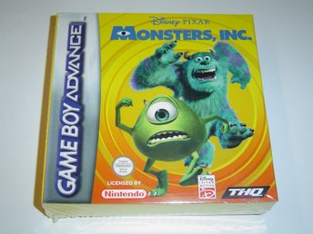 Monsters INC Nintendo Gameboy Advance GBA *NYTT*